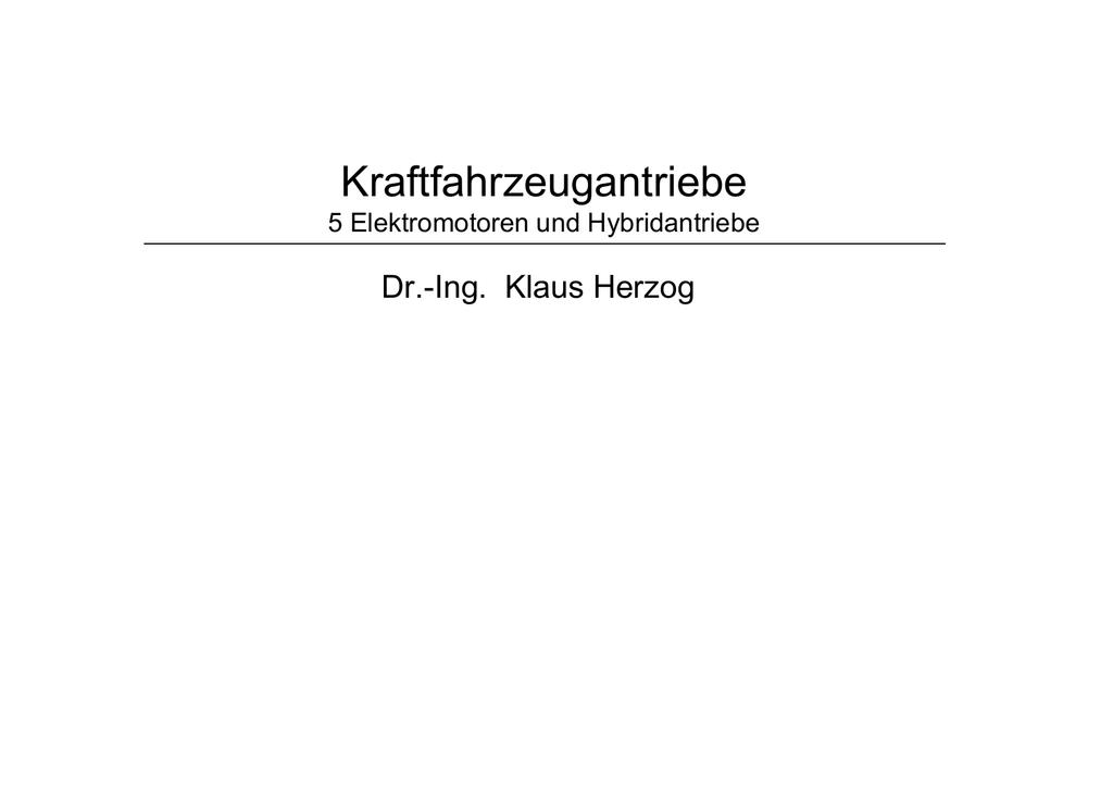 Kfz_Antriebe_5_Elektromotoren_und_Hybridantriebe.pdf | Manualzz
