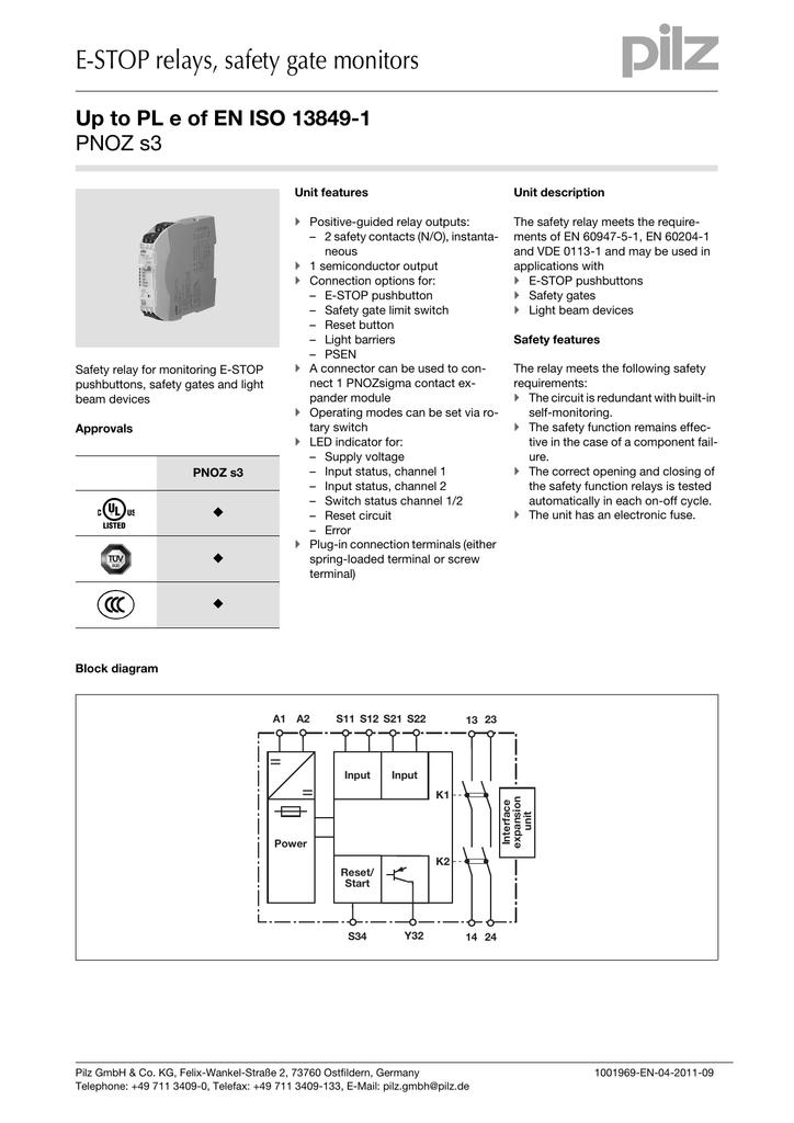 Pnoz xv2 data sheet 1002306 toyota engine fuse box diagram home    on kronos universal relay wiring diagram