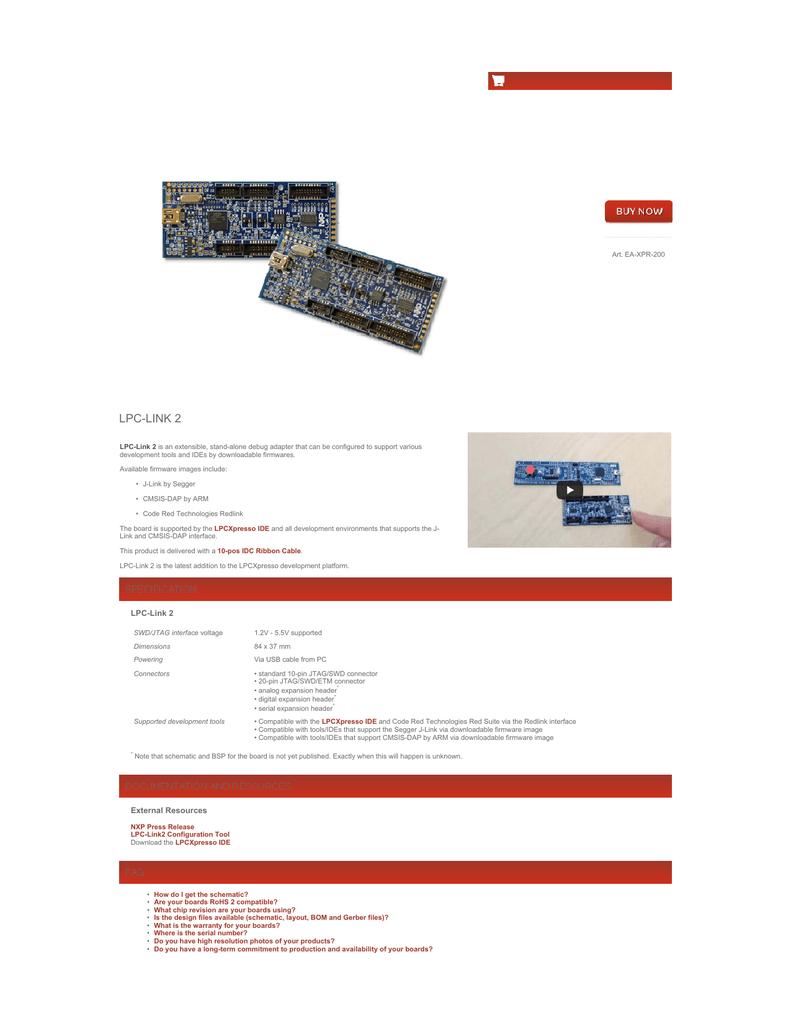 LPC-LINK 2 | manualzz.com on