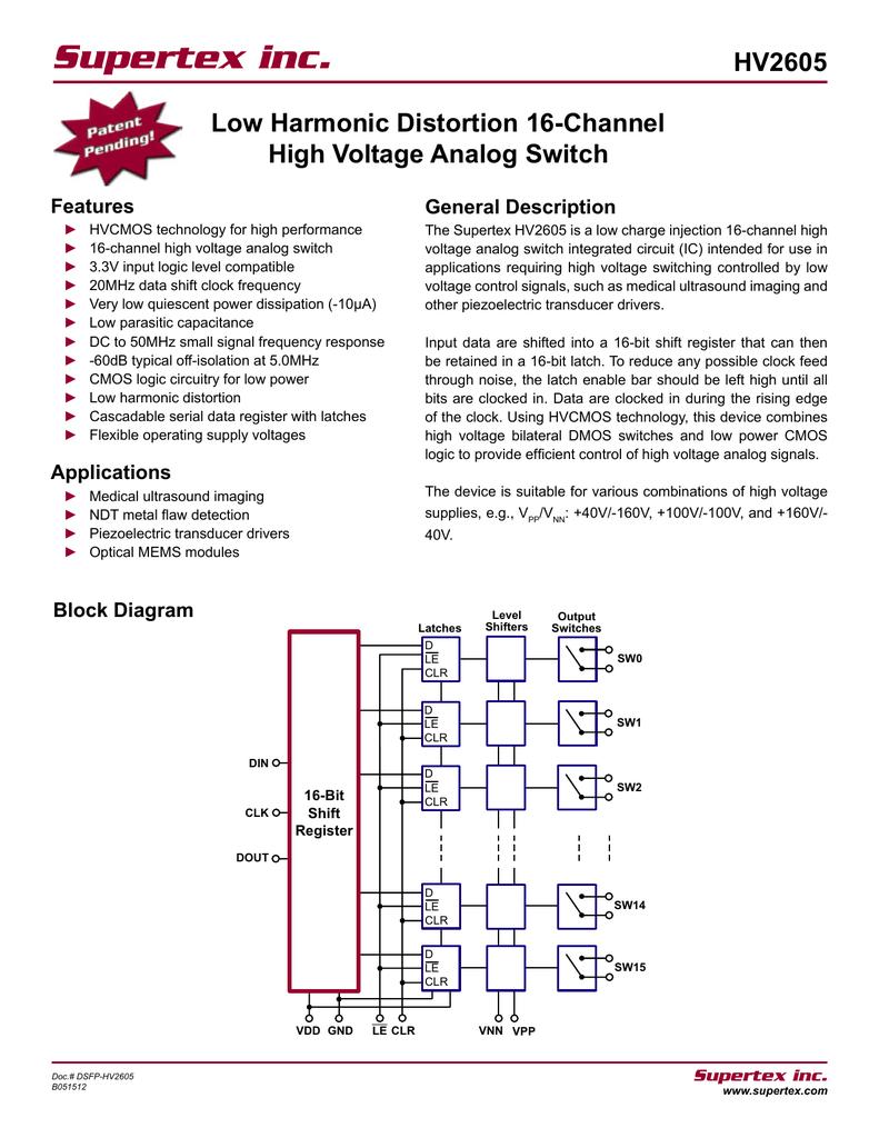 Circuits Low Voltage Indicator Circuit High Voltage Detector Circuit