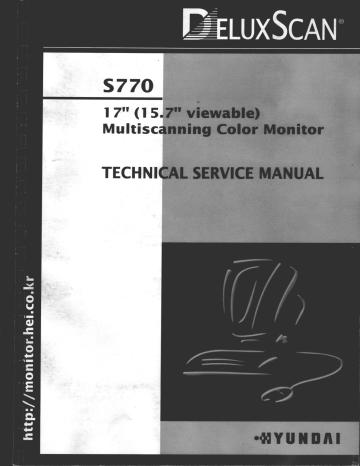 service-manual-huyndai-s770.pdf | Manualzz