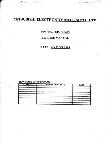 diamond-scan70_sd7704c-service-manual.pdf | Manualzz