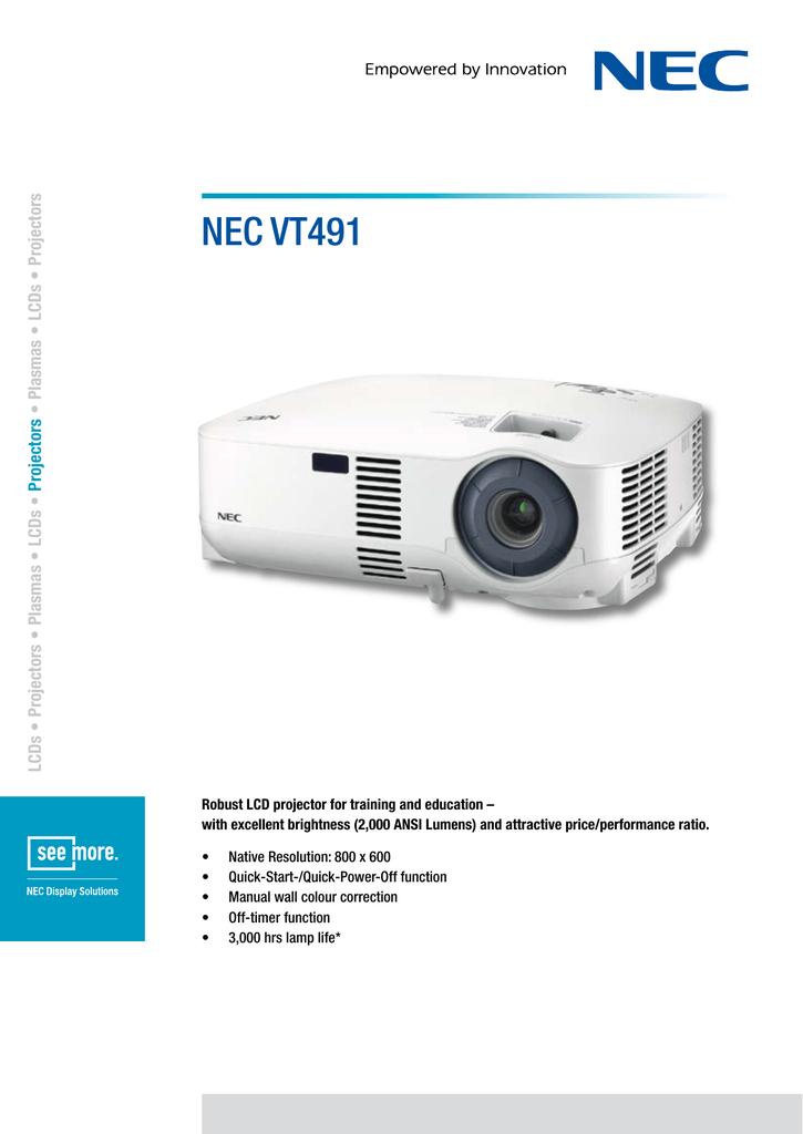 nec vt491 rs to manualzz com rh manualzz com