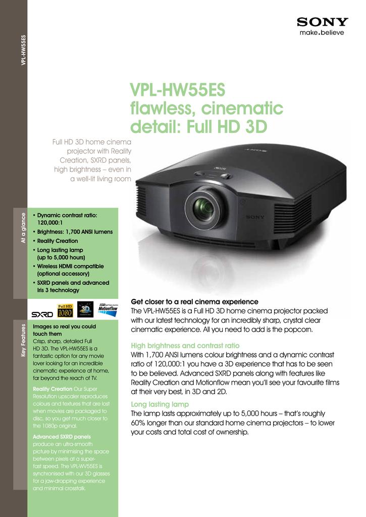 sony-VPL-HW55ES.pdf | Manualzz