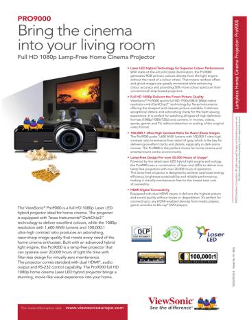 ViewSonic_Pro9000.pdf | Manualzz