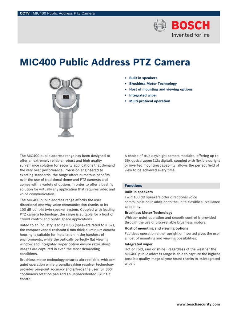 MIC400PAGUW14618P | manualzz com