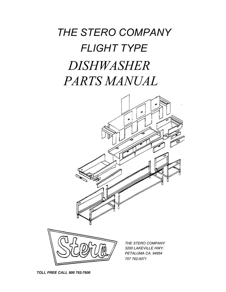 stero dishwasher wiring diagram