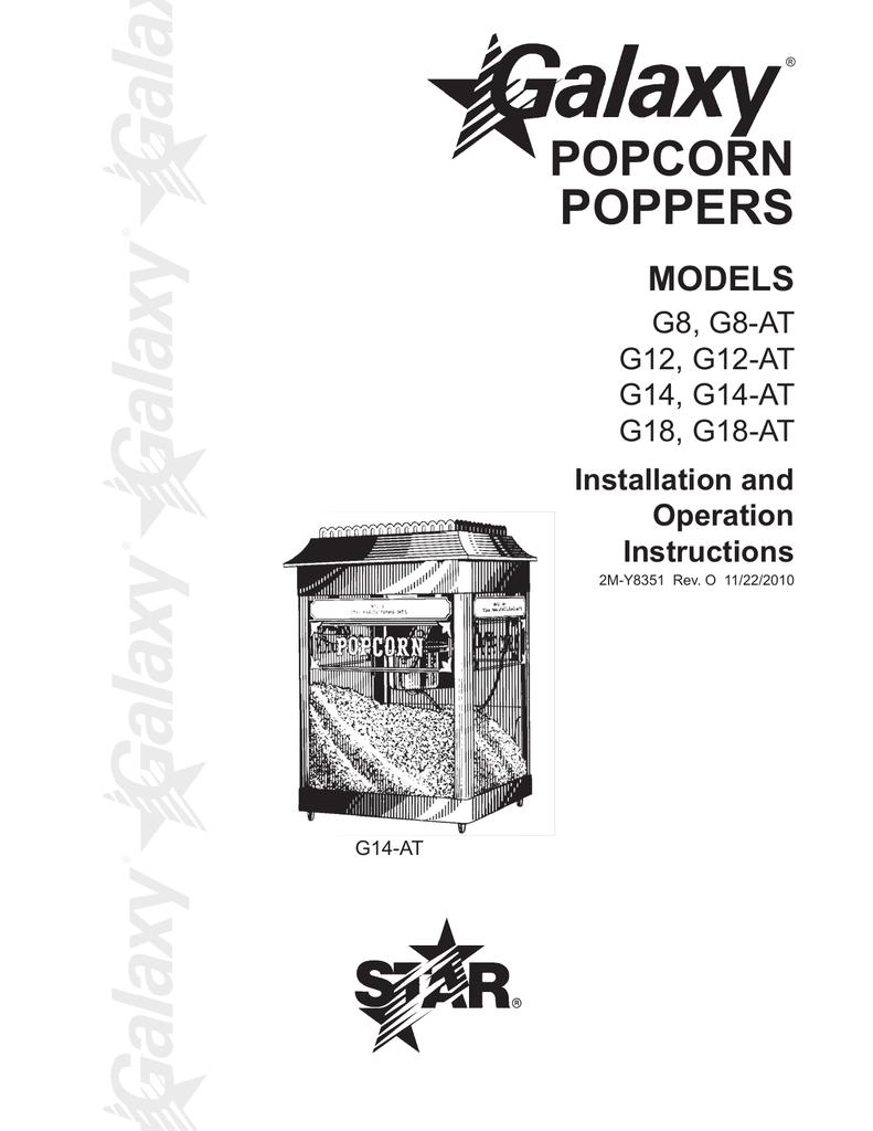 popcorn popper wiring diagram