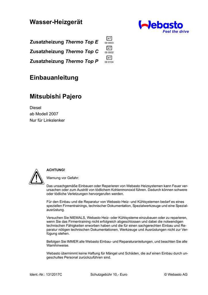 Schön Mitsubishi Montero Schaltplan Ideen - Elektrische Schaltplan ...
