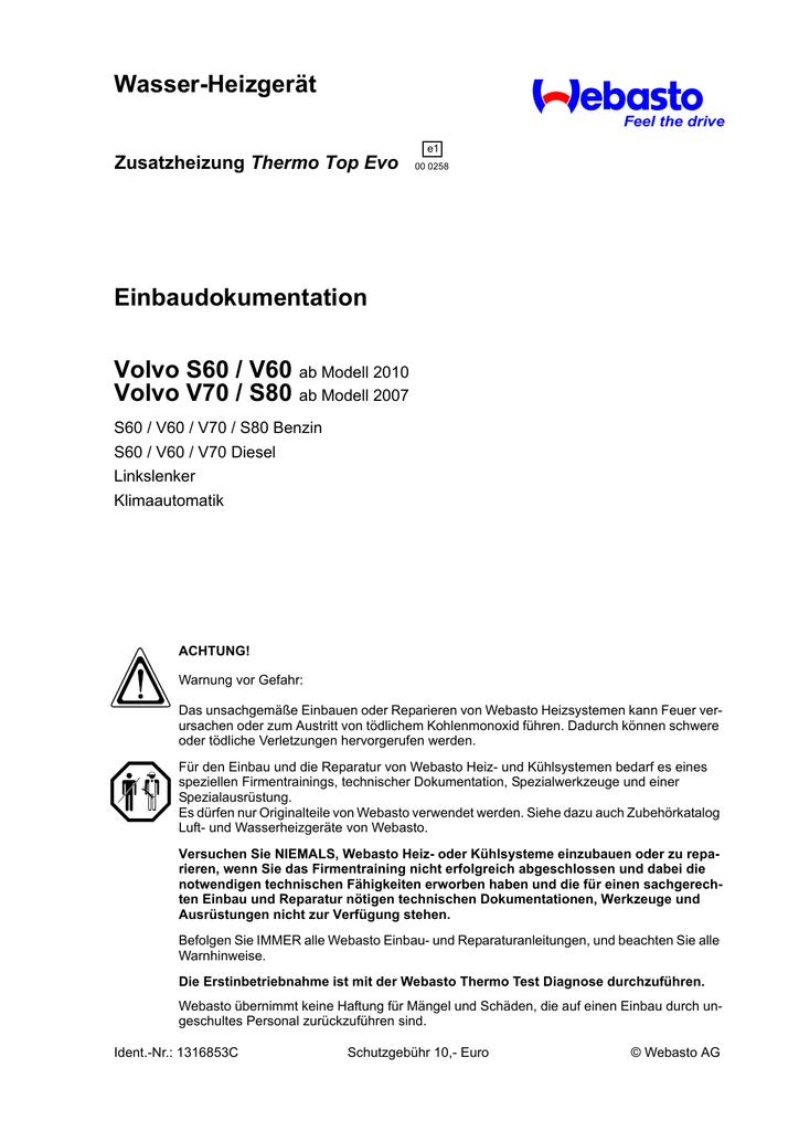 Fein Volvo V70 Schaltplan Fotos - Der Schaltplan - rewardsngifts.info