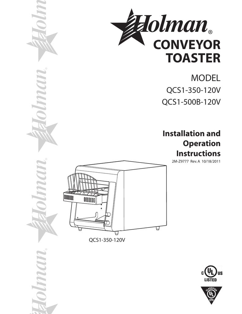 Conveyor Wiring Diagram Schematic Diagrams Toaster Holman Block And U2022 Brake System