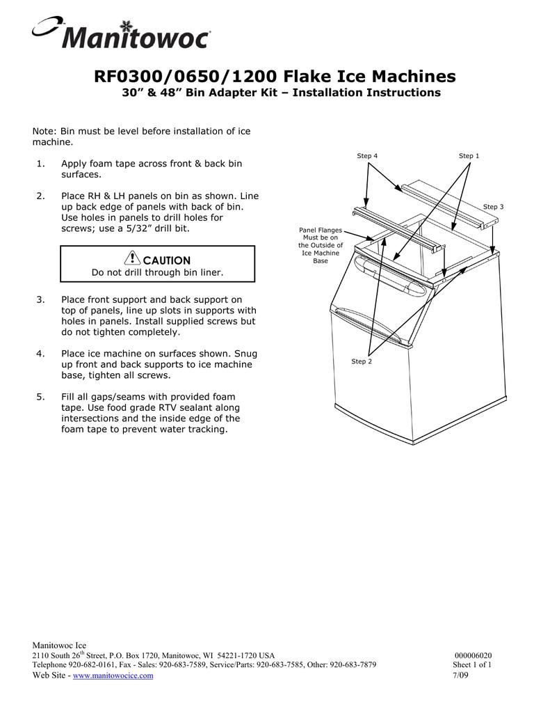RF0300/0650/1200 Flake Ice Machines   manualzz.com on