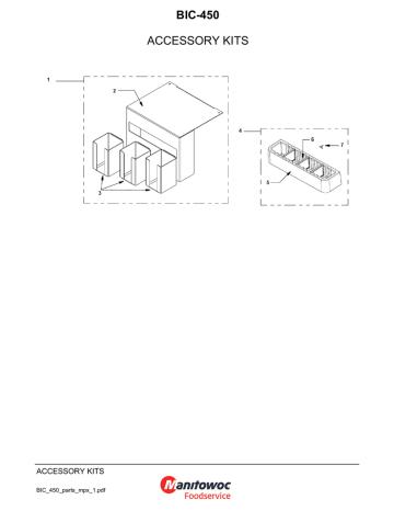 BIC-450 ACCESSORY KITS BIC_450_parts_mpx_1.pdf | Manualzz