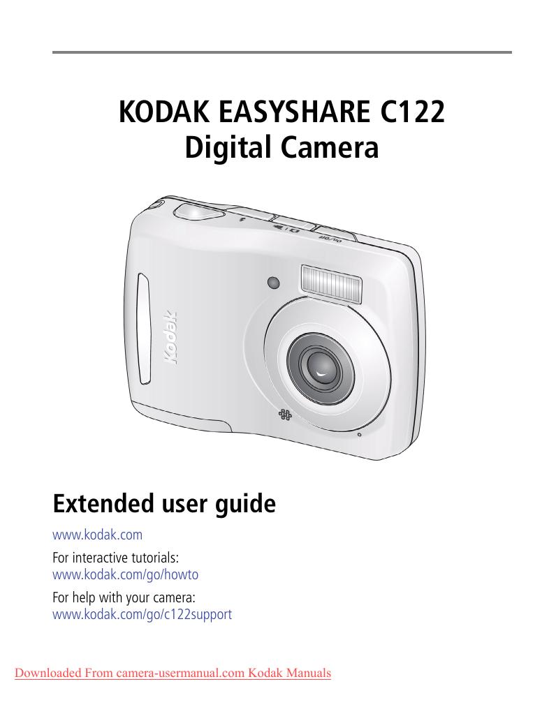 software de kodak easyshare c122