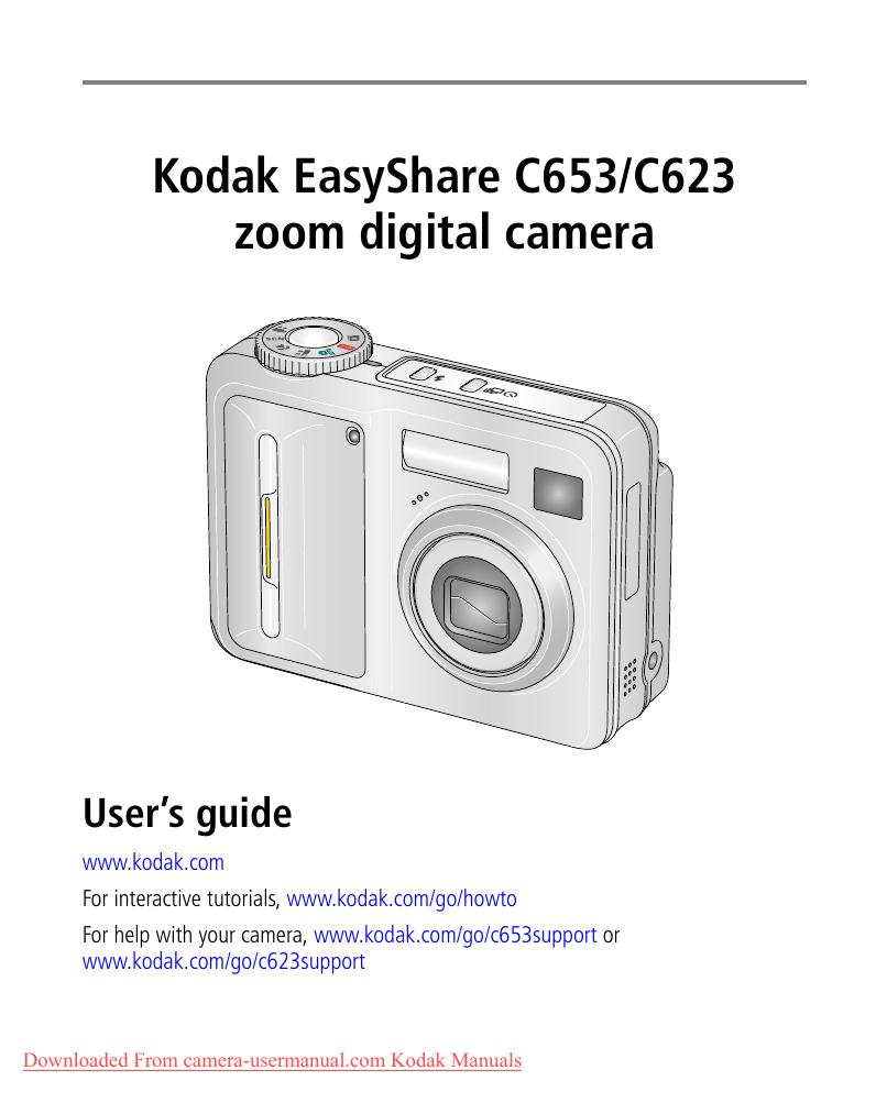 manual kodak c653