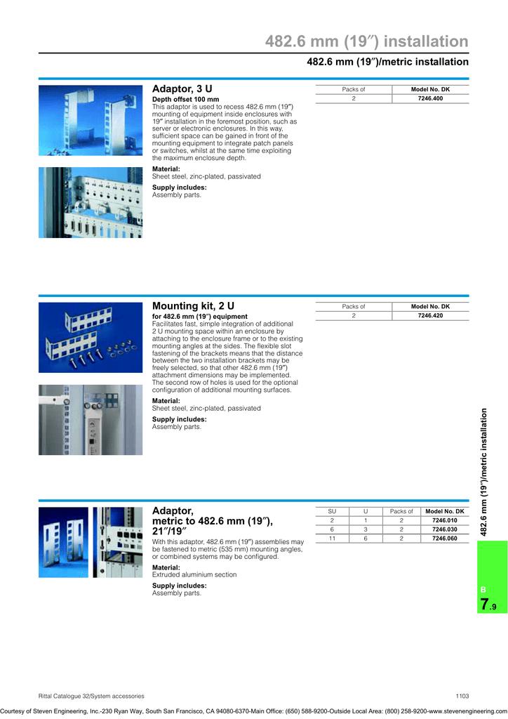 482 6 mm (19 ) installation ″ )/metric installation | manualzz com