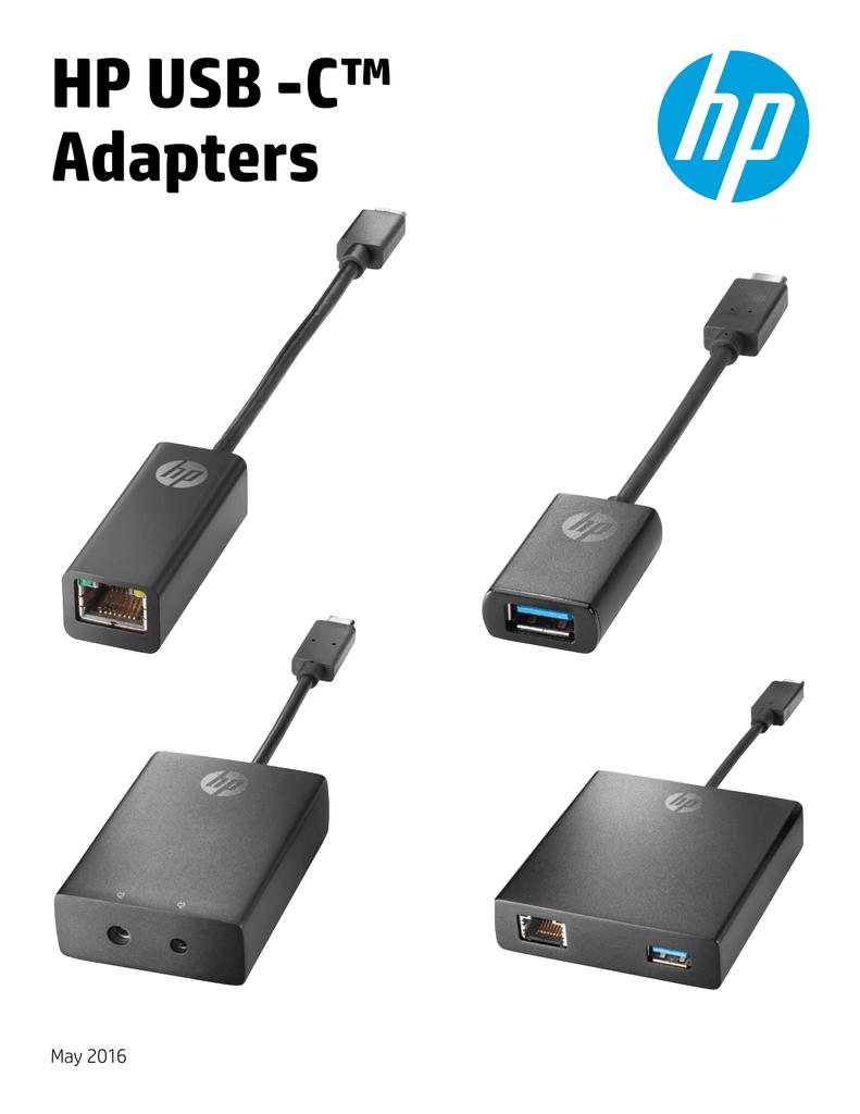 HP USB -C™ Adapters May 2016   manualzz com