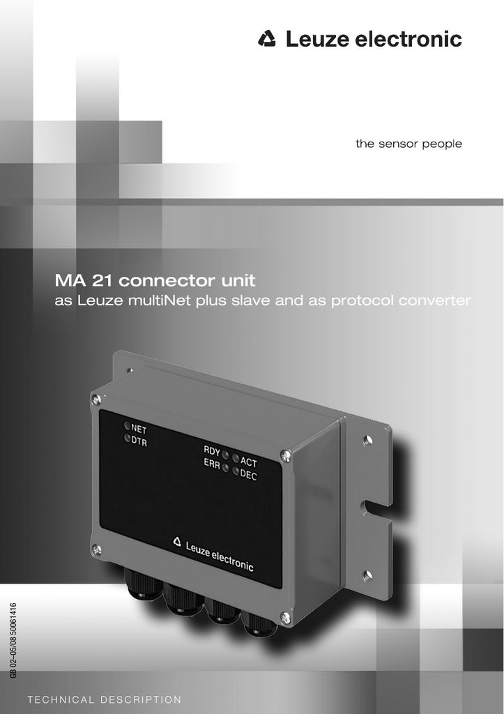 Leuze ELECTRONIC TNT 32//r-101