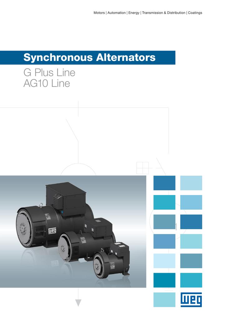 Synchronous Alternators G Plus Line AG10 Line | manualzz com