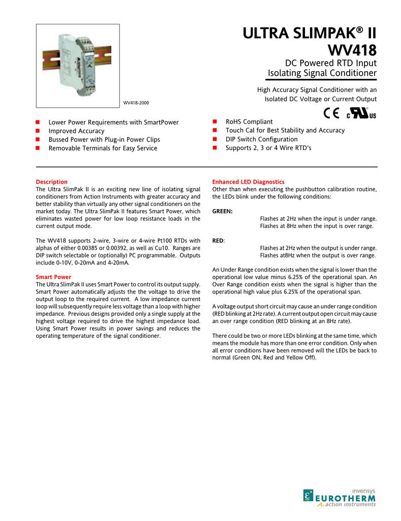 ULTRA SLIMPAK II WV418 ® | manualzz com