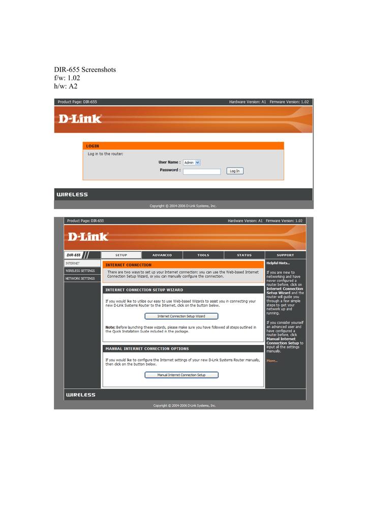 DIR-655_Screenshots_1.02.pdf | Manualzz