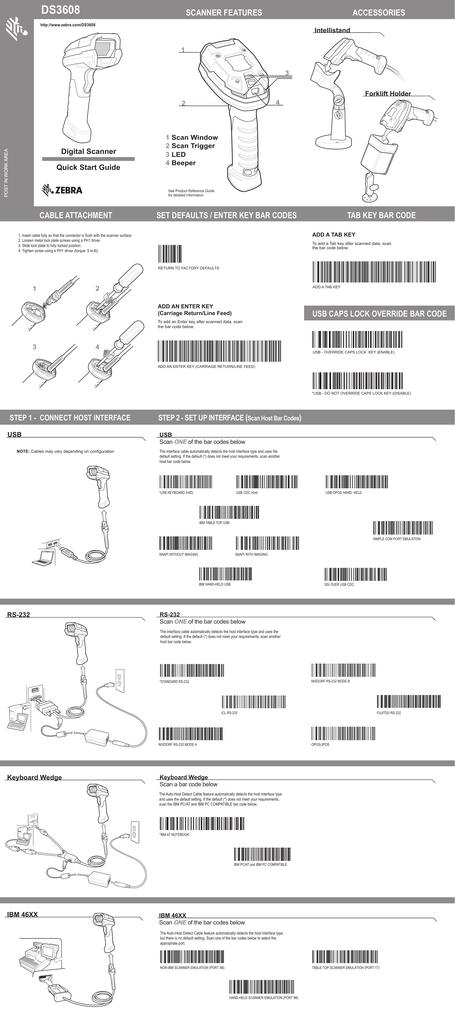 Zebra Ds3608 User Guide Manualzz