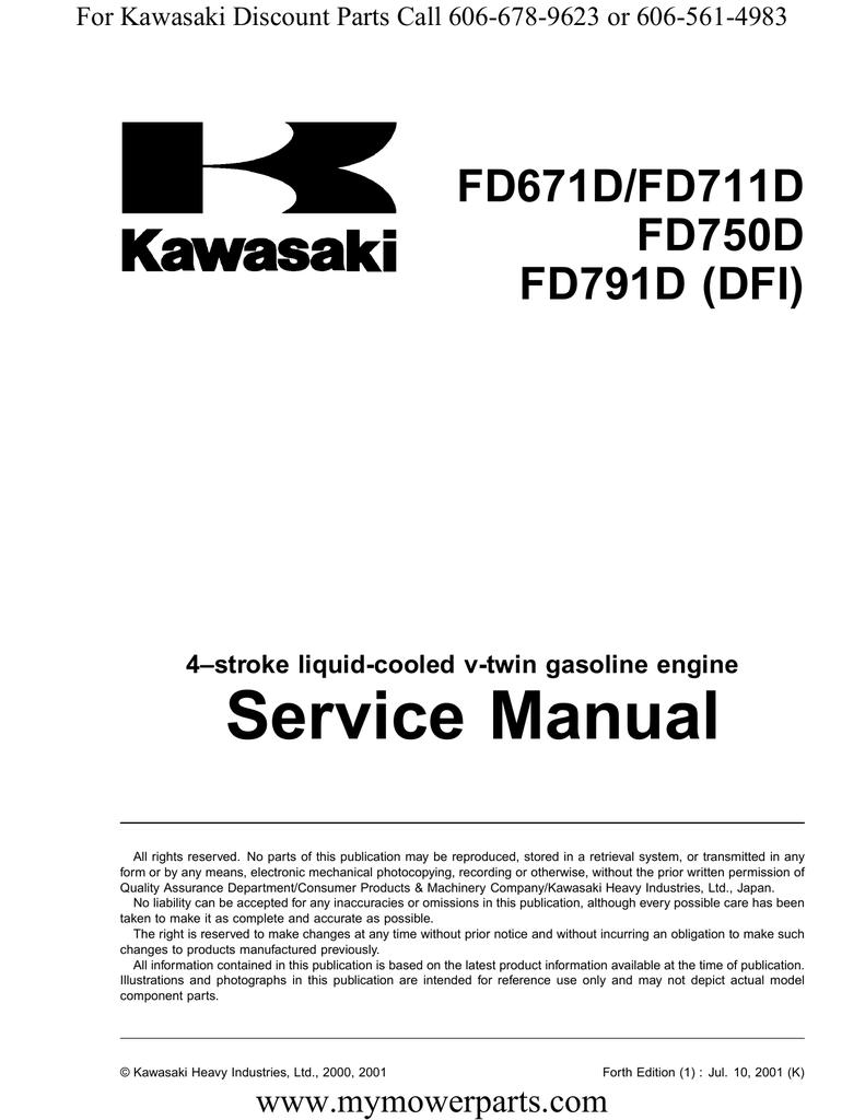 service manual fd671d fd711d fd750d fd791d dfi manualzz com rh manualzz com