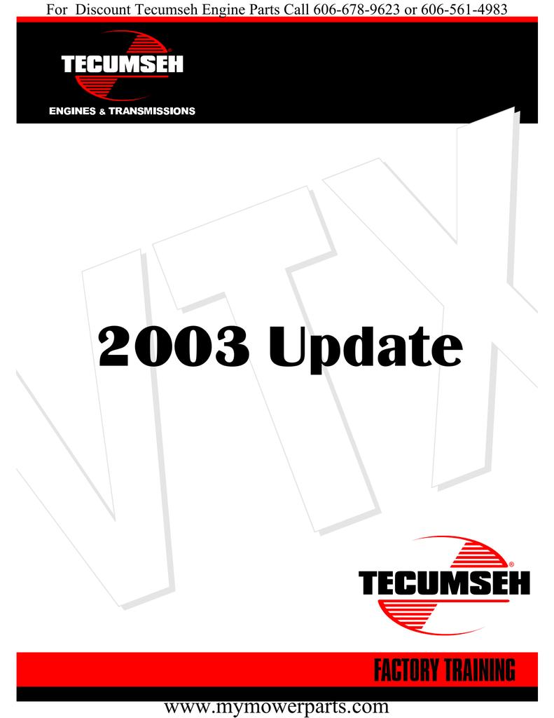 Tecumseh Vtx691 Wiring Diagramvtx Wire Diagrams Engines Diagram 2003 Update Www Mymowerparts Com Manualzz 29