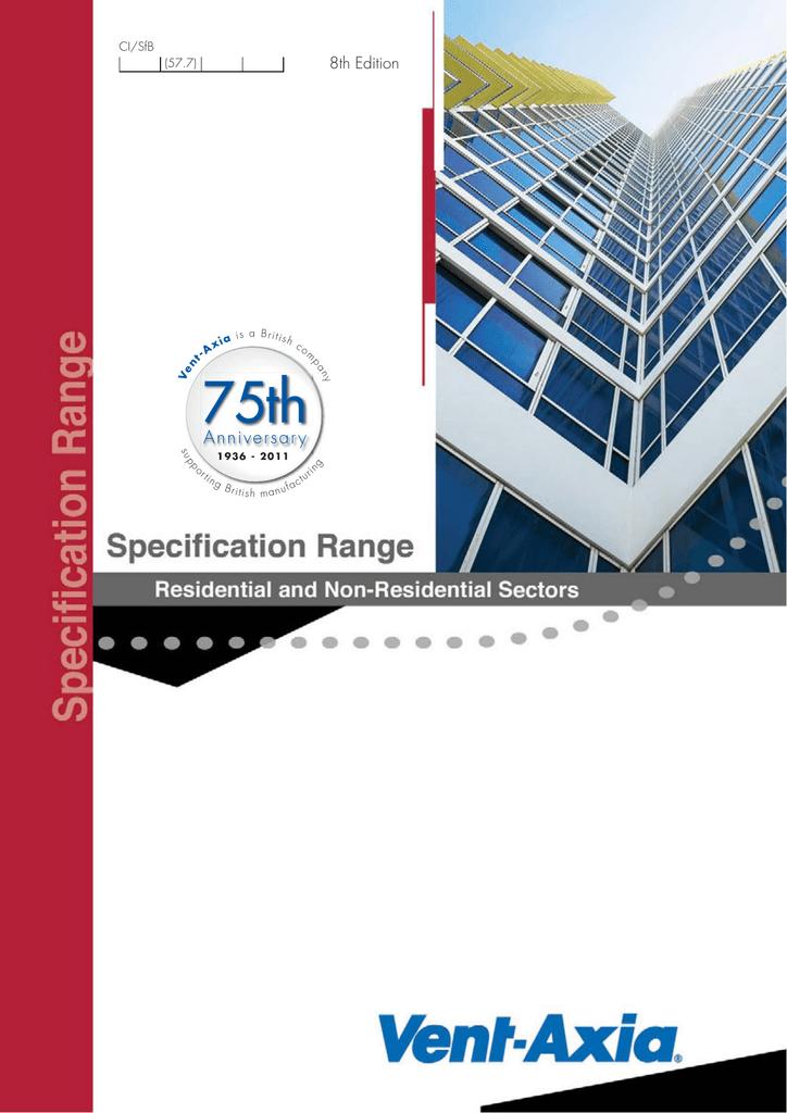 75th Anniversar y 8th Edition CI/SfB | manualzz com