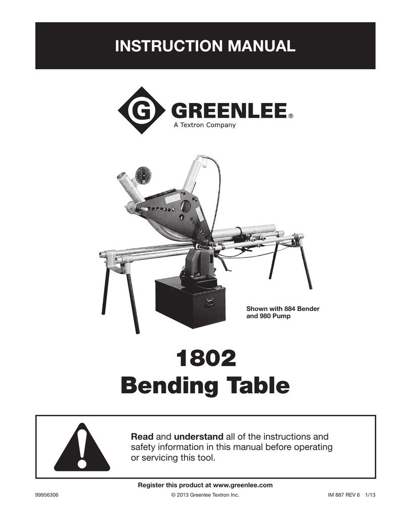 Electric benders, pvc benders, hydraulic pumps & more | greenlee.