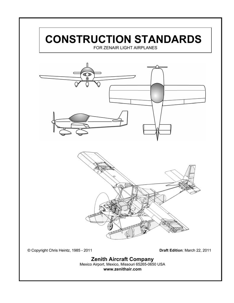 CONSTRUCTION STANDARDS Zenith Aircraft Company   manualzz com