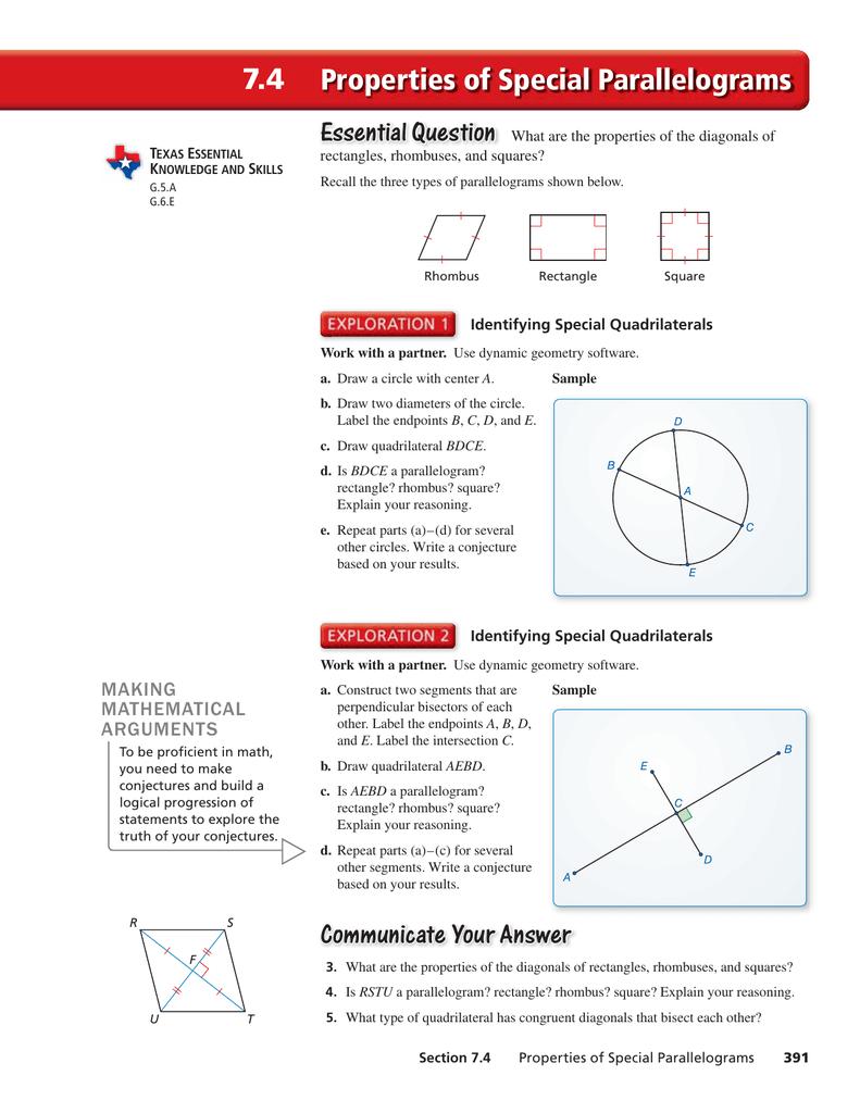 Is A Square A Parallelogram Explain - Change Comin