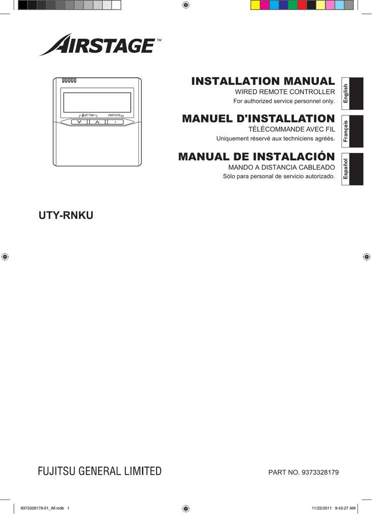 uty rnku wired remote controller manualzz com rh manualzz com