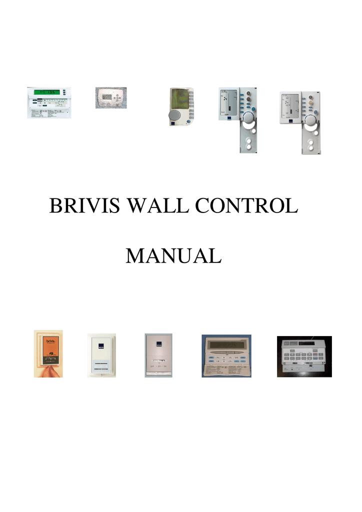Brivis Wall Control Manual Manualzz