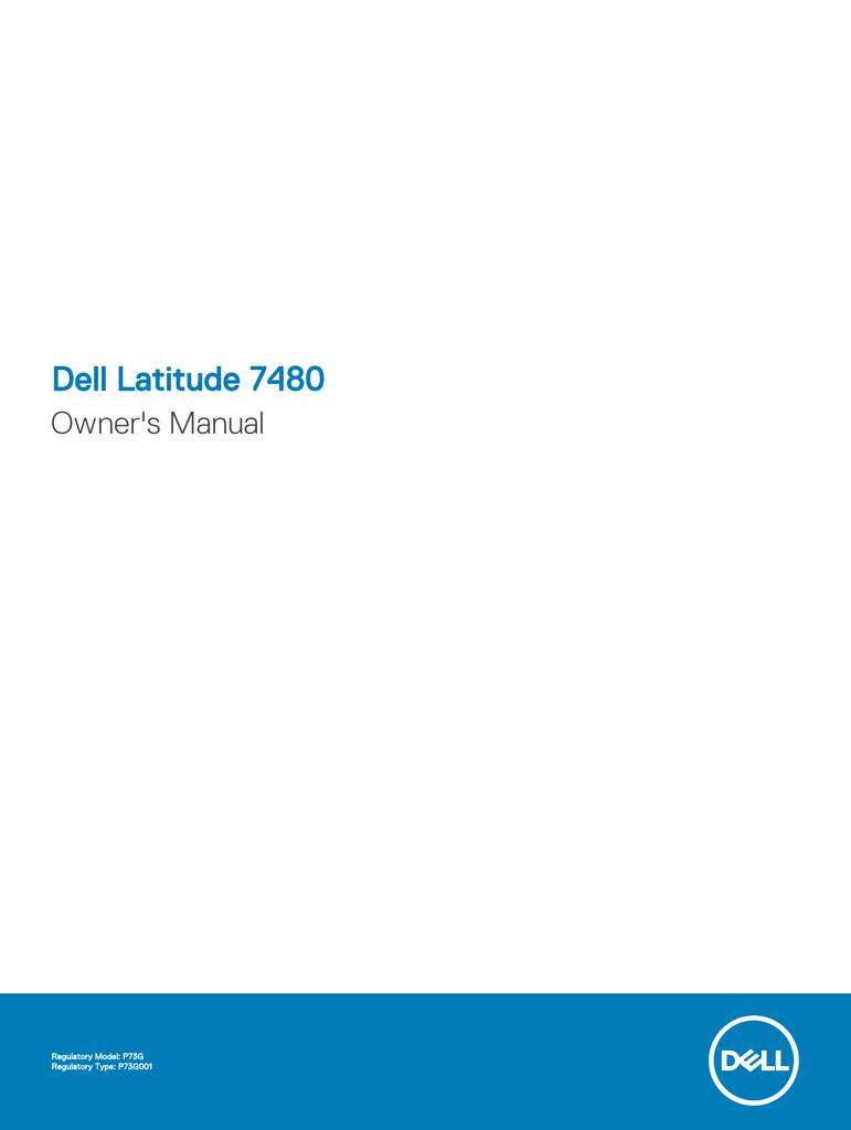 Dell Latitude 7480 Owner`s Manual | manualzz com