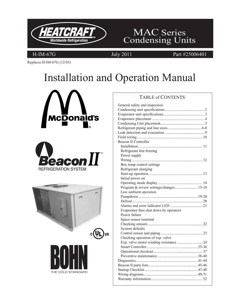 heatcraft evaporator coil wiring diagram installation and operation manual heatcraft worldwide  installation and operation manual