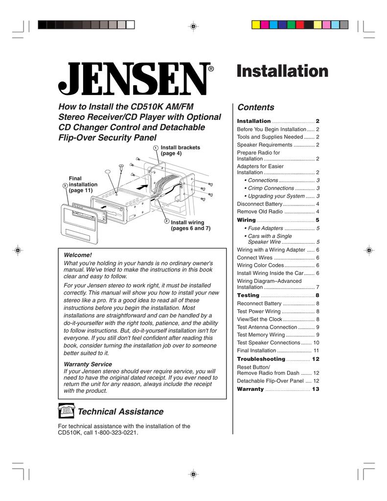 Installation | Manualzzmanualzz