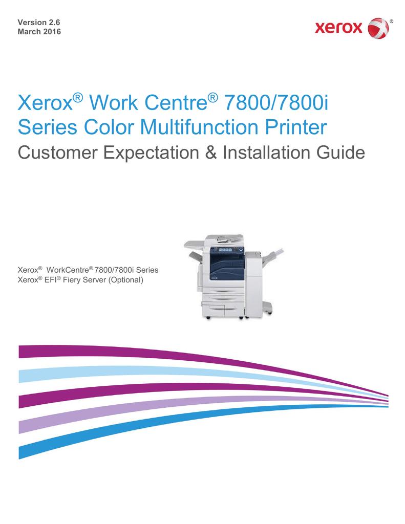 WorkCentre 7800-7800i Series | manualzz com
