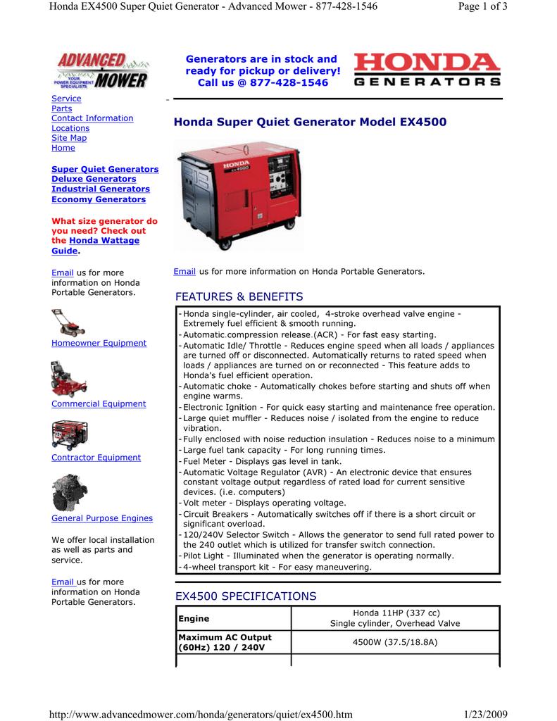 HONDA 30 AMP 125V GENERATOR PLUG 32312-880-710