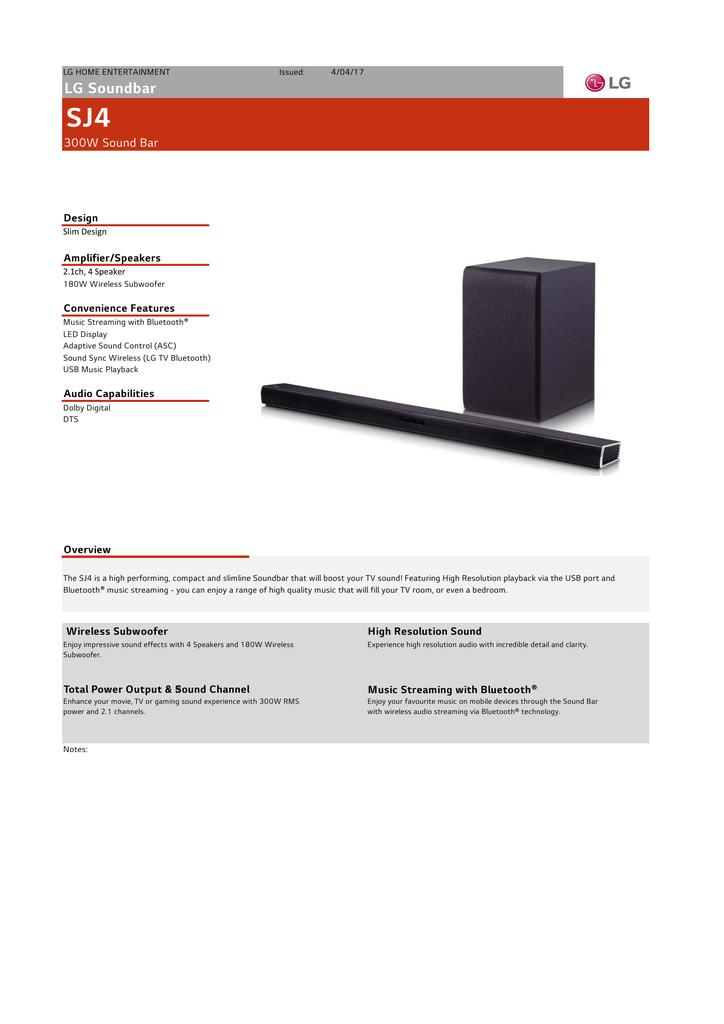 LG Soundbar | manualzz com