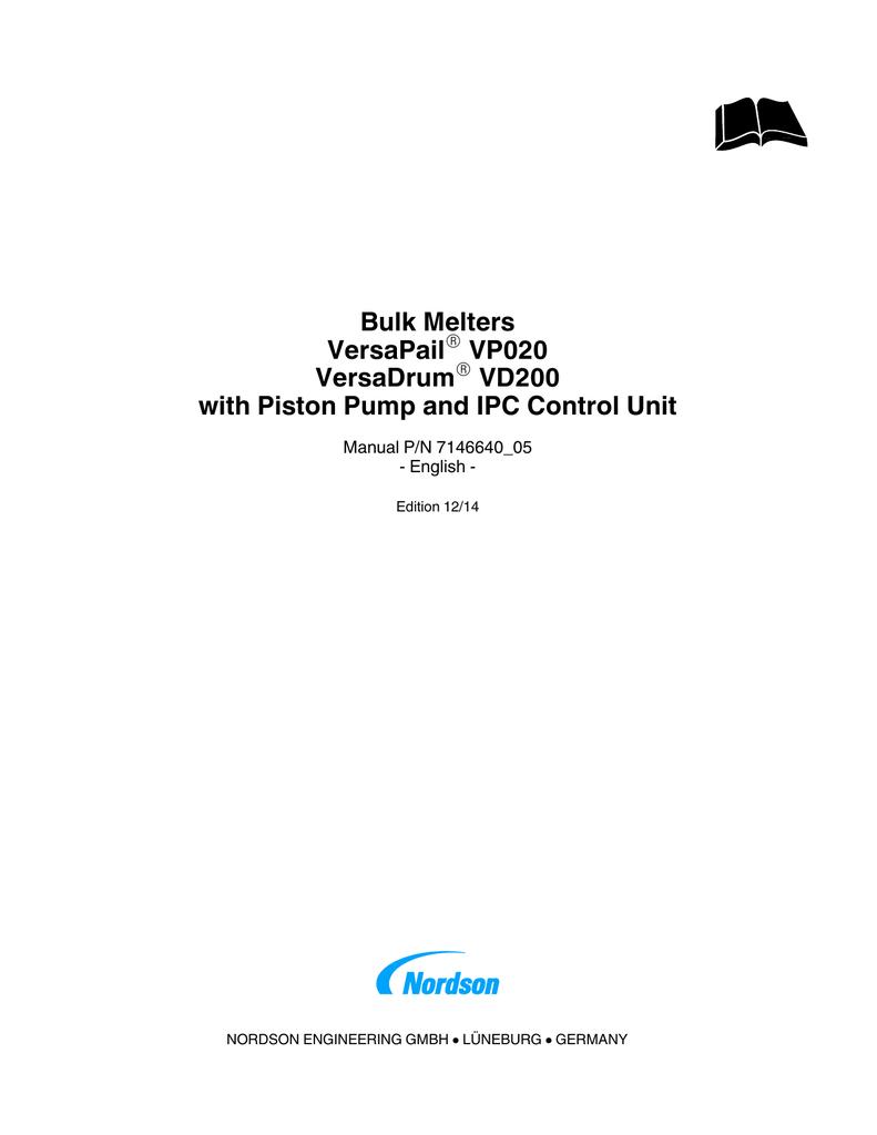 Bulk Melters VersaPail VP020 VersaDrum | manualzz com