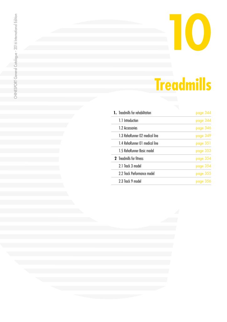 Treadmills - Chinesport | manualzz com
