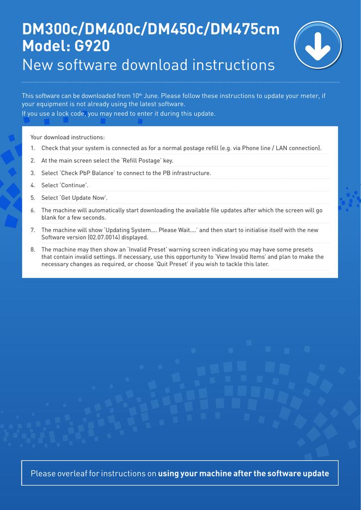 G920 New software instructions | manualzz com