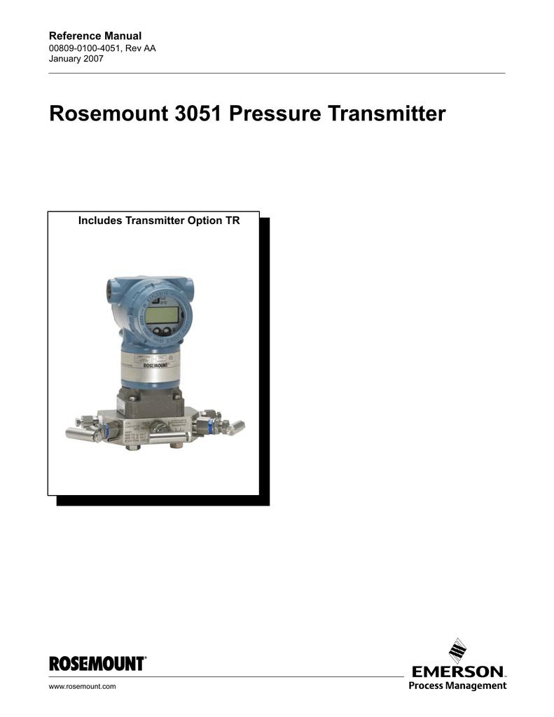 Surprising Rosemount 3051 Pressure Transmitter Manualzz Com Wiring 101 Vieworaxxcnl