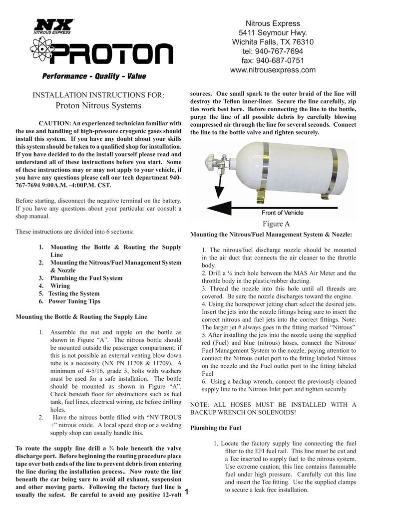 Proton Nitrous Systems | manualzz.com on nitrous oxide wiring-diagram, nitrous wiring harness, nitrous express system, honda express wiring diagram, nitrous express fuel pump, nitrous relay wiring, nitrous express exhaust, nitrous express honda,