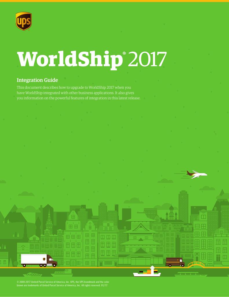 UPS WorldShip™ 2011 Installation Guide   manualzz com