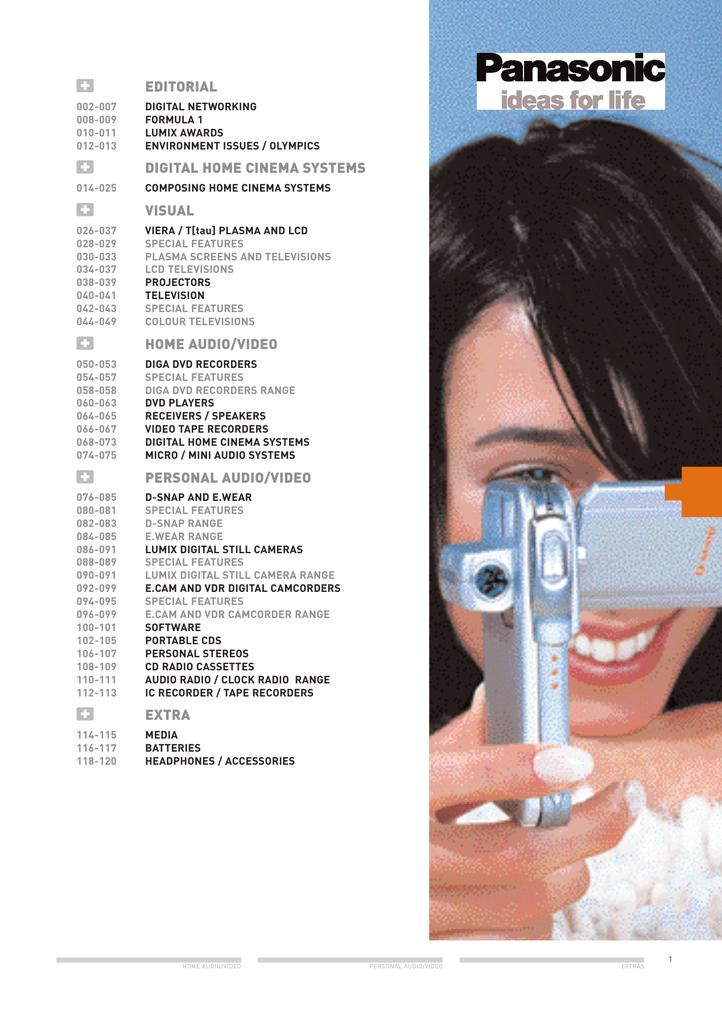 Panasonic Av 2004 Qxd Manualzz
