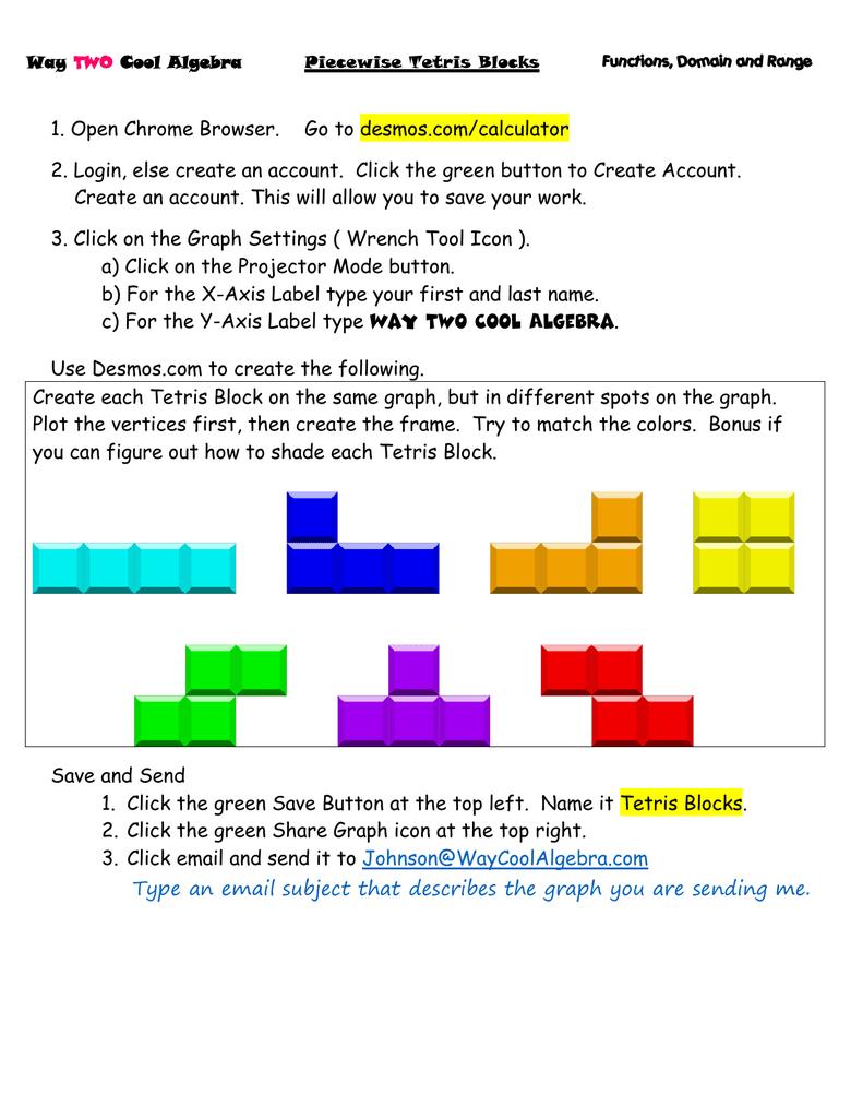 Piecewise Tetris Shapes ( Desmos com )   manualzz com