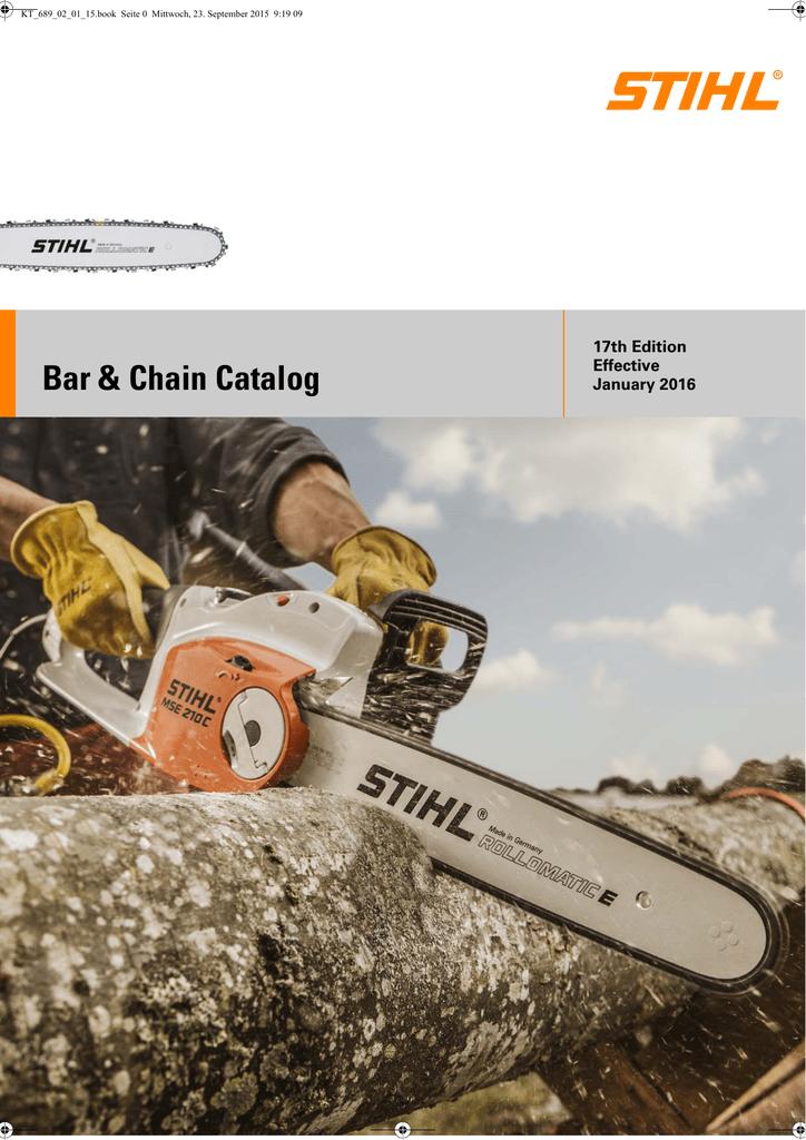 STIHL .325 Pitch Sawchain 99 drivers 050 gauge chisel