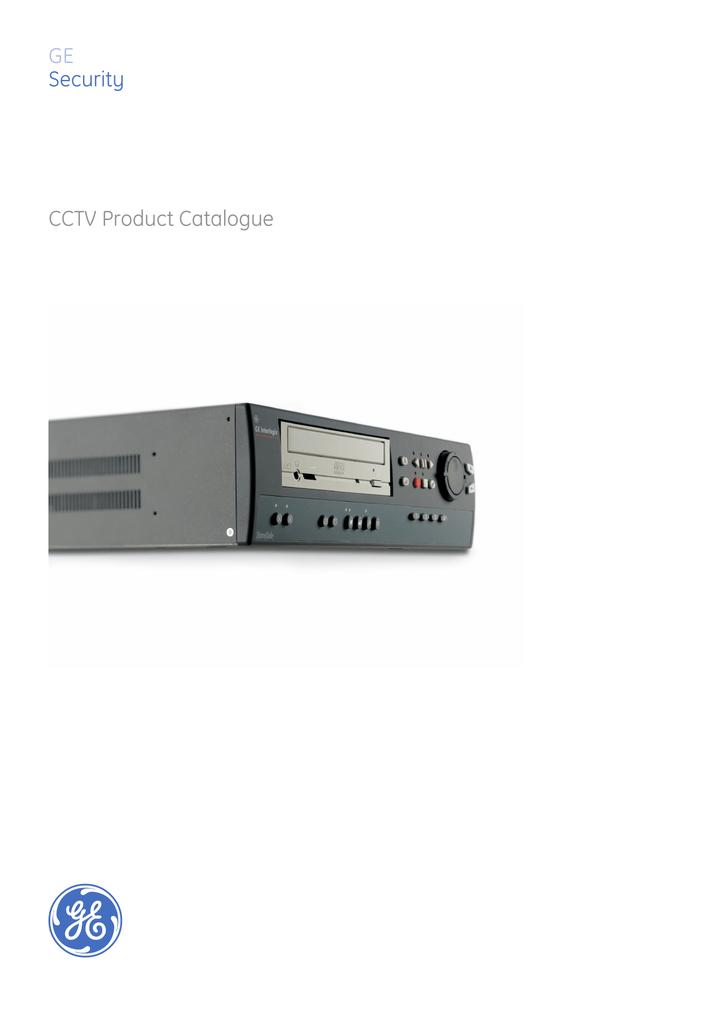 GE Security CCTV Product Catalogue | manualzz.com on